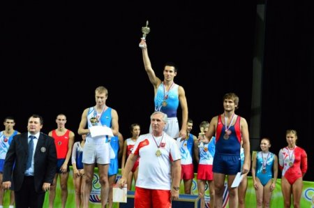 Чемпионат России по прыжкам на батуте