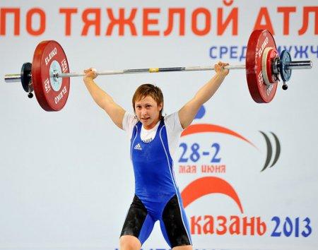 Чемпионат России по тяжёлой атлетике в Казани