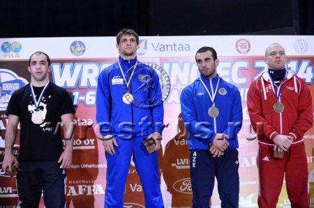 Победа наших спортсменов на Чемпионате Европы по греко-римской борьбе