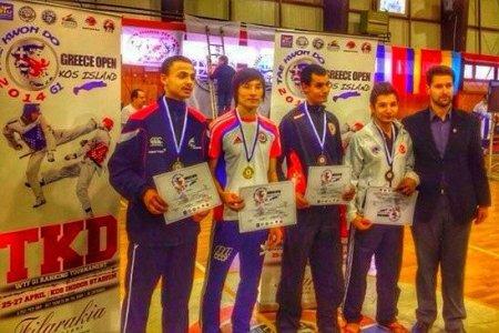 Победа на международном турнире  Greece Open по тхэквондо
