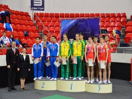 Командный чемпионат России по прыжкам на батуте