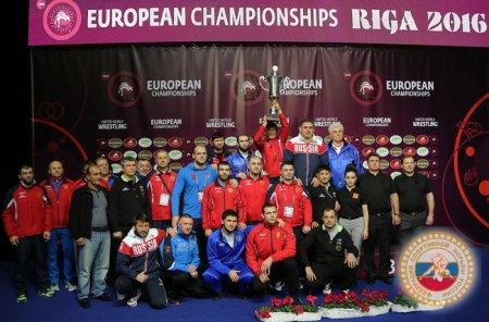 чемпионат Европы по спортивной борьбе