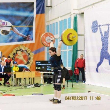 Первенство ЮФО по тяжелой атлетике